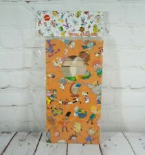 """Nickelodeon (Classic) Mini Bean Bag Toss Party Game 5"""" x 10""""  (2 Boards, 6 Bags)"""