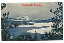 Anglers Feeding Fish Fancy Bait Opening Day EAST LAKE Central OREGON Postcard OR