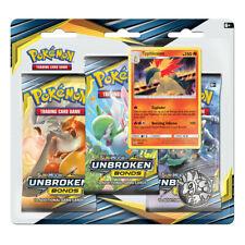 Pokemon SUN & MOON UNBROKEN BONDS Booster PACK🍯TCG Trading Card Box TYPHLOSION