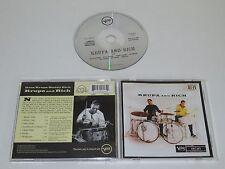 GENE KRUPA AND COPAIN RICH/KRUPA AND RICH(VERVE 521 643-2) CD ALBUM