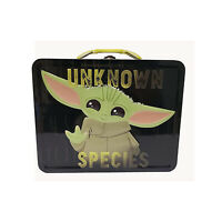 Star Wars Mandalorian The Child Yoda Unknown Species Metal Tin NEW IN STOCK