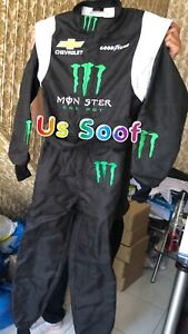 GO-KART-MONSTER-RACE-SUITE-CIK/FIA-level-2 Approved-with-Free Balaclava