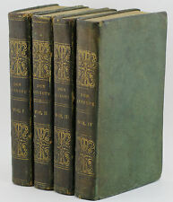 1828 THE LIFE AND EXPLOITS OF DON QUIXOTE Cervantes Very Good Full Leather Set