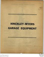 1922 PAPER AD 18 PG Hinckley Myers Ford Fordson Car Repair Garage Equipment