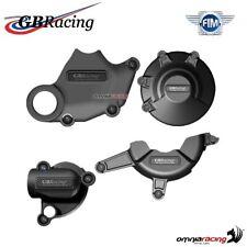 Set completo protezione carter motore GBRacing per Ducati 848 2008>2013