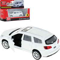 Buick Enclave White Diecast Model Car Scale 1:43