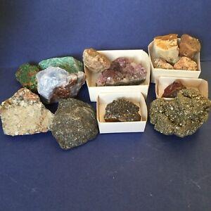 Job Lot Of Rocks And Crystals