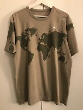 RARE Unique Boxfresh World Map Atlas T-Shirt MEDIUM