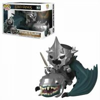 Funko Pop Lord of the Rings Lot #63 Witch King on Fellbeast  #633 Dunharrow King