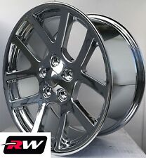 20 inch Dodge Ram 1500 OE Factory Replica SRT-10 Chrome Wheels Rims SRT10 5x5.50