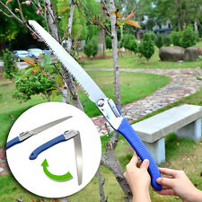 Portable Stainless Steel Garden Trimming Saw Folding Tree Pruning Camping DIY