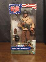 GI JOE Omaha Beach Army Infantry Action Hero Figure D-Day Collection 2001 Hasbro