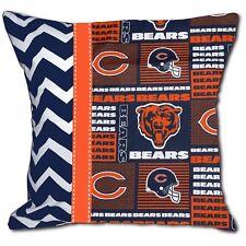NFL Chicago Bears Football Decorative Throw Pillow