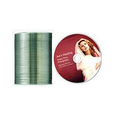 100 CD-R JVC Taiyo Yuden White Glossy Watershield Printable T52044 Shrink Wrap
