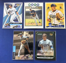 Evan Longoria Rookie Card Lot of 5 cards