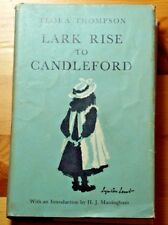 Rare Lark Rise To Candleford Pocket Ed by Oxford Univ Press 1975 Hardcover