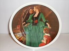 Grandmas Courting Dress Norman Rockwell Knowles