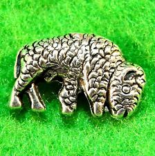10Pcs. Tibetan Silver 3D BUFFALO Bison Spacer Bead Charms Jewelry Findings AN086