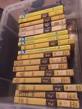 LOT OF 17 VINTAGE HARDCOVER NANCY DREW MYSTERY BOOKS.  3 of them newer.