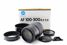 Minolta Zoom Lens AF100-300mm F/4.5-5.6 Macro Tested for Maxxum & Sony #568546