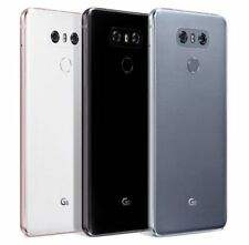 "LG G6 (Latest 5.7"") H872 32GB 13MP 4G T-Mobile Smartphone Great Black Platinum"