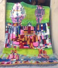 New, soft wool, modern design Beni Ouarain (Ourain) rug, (#307) 310 x 220 cm