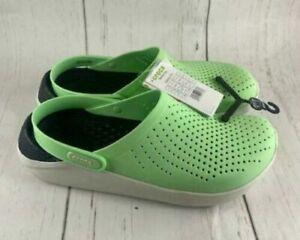 Crocs Literide Green Clogs Foam Technology Insole 204592-3TP Men 11