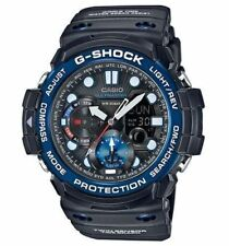 Mens Casio G-Shock Gulfmaster Black Rubber Twin Sensor Tide Watch GN1000B-1A