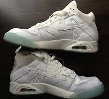 Nike Men Air Tech Challenge III 3 White Volt SIZE 10 US 749957-101 Agassi