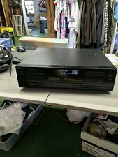 New listing Sony 5 Cd Compact Disc Multi Player Carousel Changer Cdp-C245 (Not Working)
