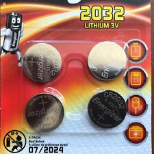4 x Energizer CR2032 3 V batteria litio moneta cella 2032, BR2032, DL2032, SB-T15