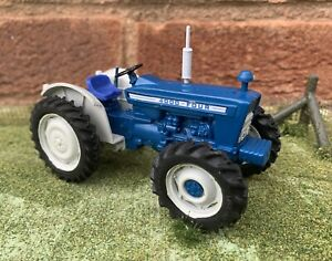 Britains Farm Vintage County 4000 Four Tractor Conversion Like Fordson Ford 5000