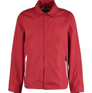 Hunter Red  Shearling lined Harrington Men's Jacket Size Large
