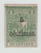 Dominican rep stamp- 2-14-6 NICE condition gum, hinged remnants- ??