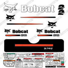 Bobcat S740 Decal Kit Skid Steer (Straight Stripes)