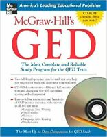 McGraw-Hill's GED w/ CD-ROM: The Most Complete and Reliable Study Program for...