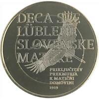 3 euro Slovenia 2019 Centenario annessione Prekmurje