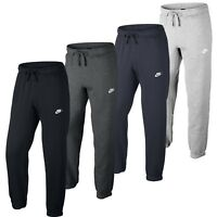 New Men's Nike Fleece Joggers, Tracksuit Bottoms, Track Sweat Jogging Pants