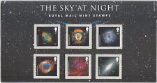GB 2007 le ciel nocturne/TV/Astronomie/nébuleuses/Etoiles/Espace 6 V pres pack (n43515h)