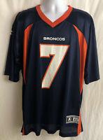 Vintage Starter Denver Broncos John Elway Authentic Sewn Jersey Mens Size 52 XL
