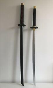 UK Seller Bleach Ichigo Kurosaki's Bankai Cosplay Foam Sword Replica Siver/Black