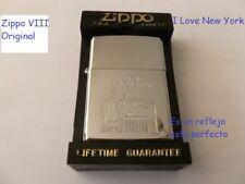 Zippo VIII Original-I Love New York-usado-muy buen estado.