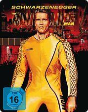 THE RUNNING MAN (Arnold Schwarzenegger) Blu-ray Disc, Steelbook NEU+OVP