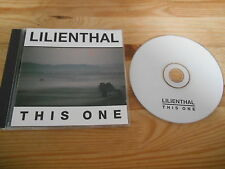CD Folk Lilienthal-this one (11) canzone PRIVATE PRESS