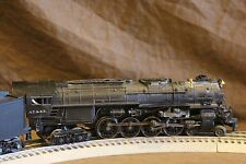MTH O gauge 4-8-4 #2916 Santa Fe  PS3  30-1604-1 with box Eng somewhat Weathered