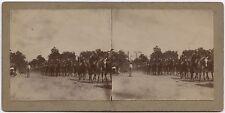 Libourne Aquitaine Retours des manoeuvres 15e Dragons Stéréo citrate 1898