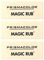 Prismacolor Magic Rub Art Eraser - Pencil Graphite - 3 PC - 73201