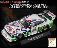 Sideways SW21 - Zakspeed Ford Capri DRM 1981 - suits Scalextric slot car track