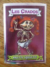 Image * Les CRADOS 3 N°67 * 2004 album card Sticker FRANCE Garbage Pail Kid