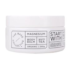 Magnesium + White Tea Body Balm Moisturiser by The Base Collective